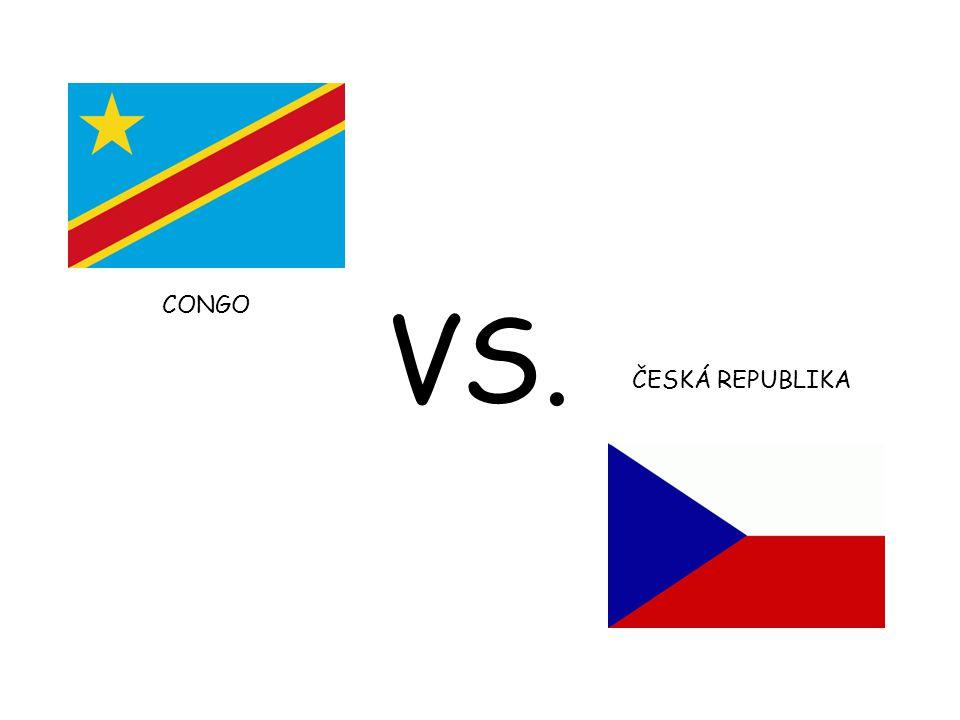 CONGO VS. ČESKÁ REPUBLIKA