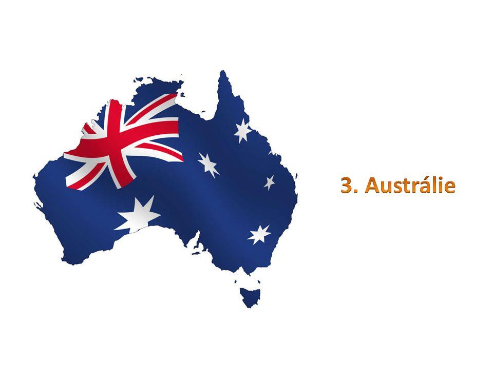 3. Austrálie