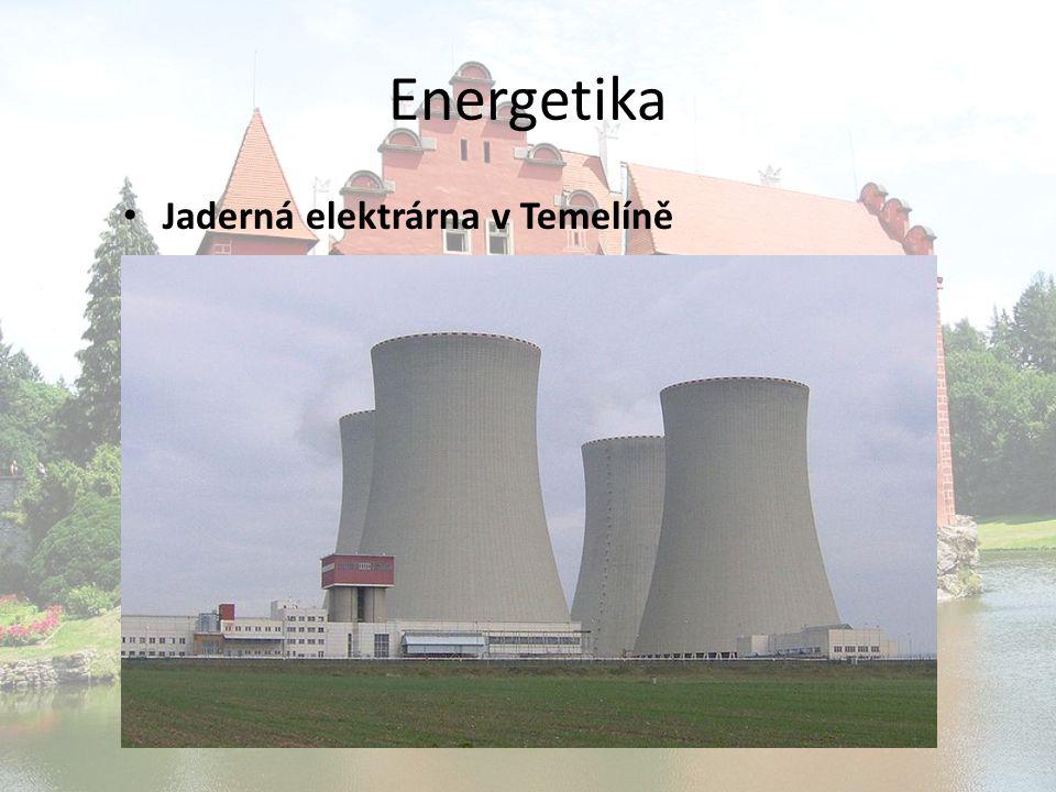 Energetika Jaderná elektrárna v Temelíně