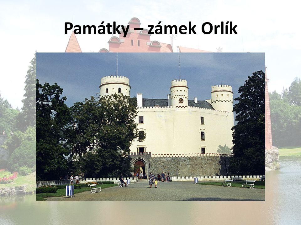 Památky – zámek Orlík