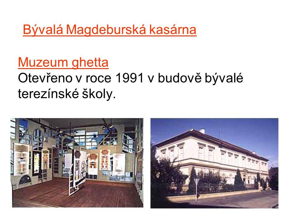 Bývalá Magdeburská kasárna