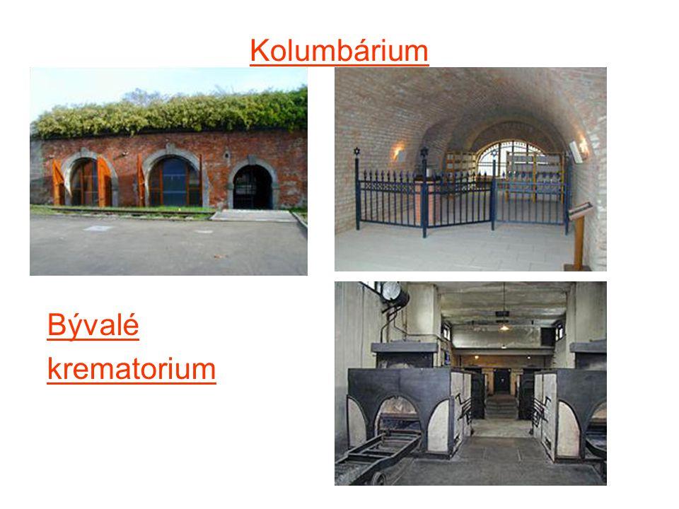 Kolumbárium Bývalé krematorium