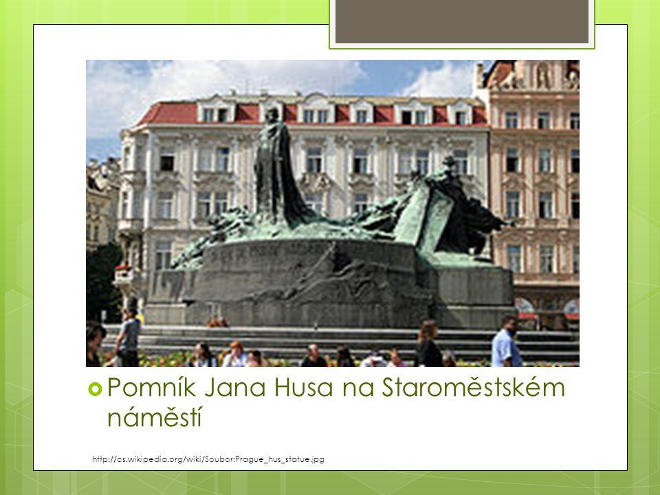Pomník Jana Husa na Staroměstském náměstí