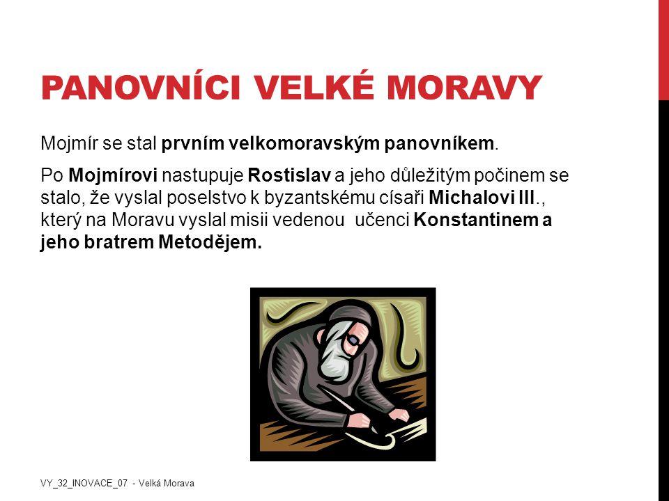 Panovníci Velké Moravy