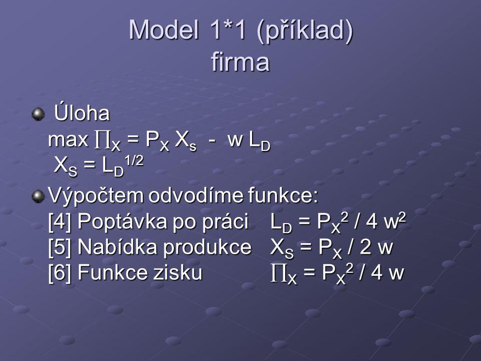 Model 1*1 (příklad) firma