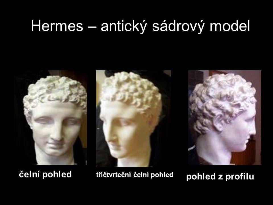Hermes – antický sádrový model