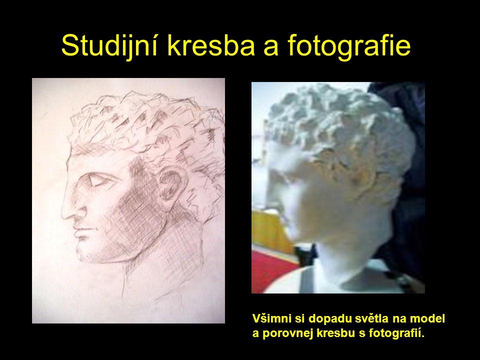 Studijní kresba a fotografie
