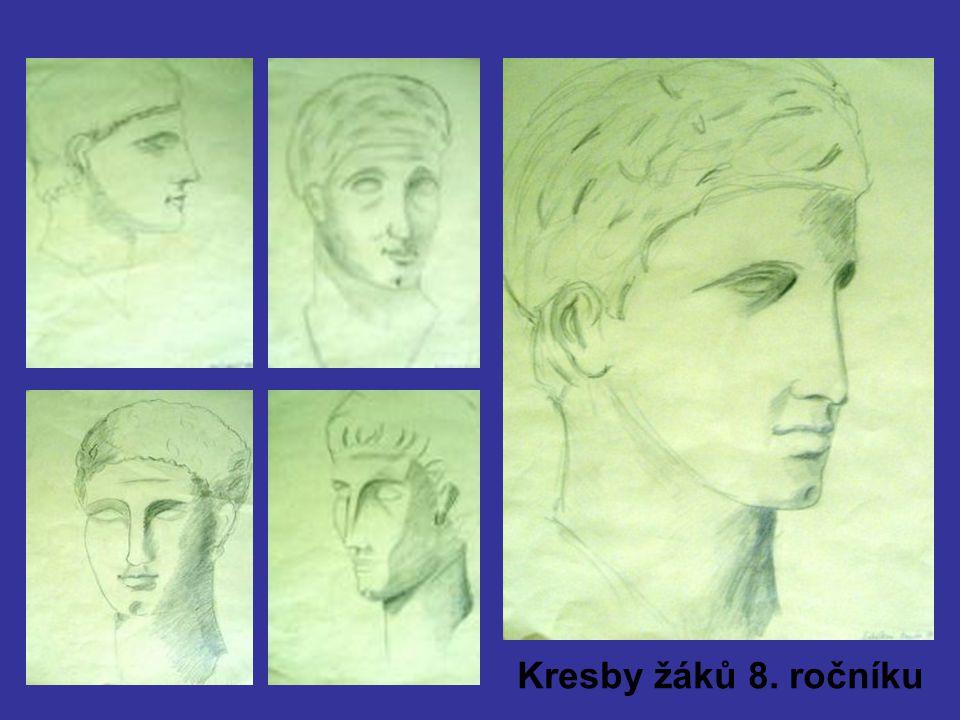 Kresby žáků 8. ročníku