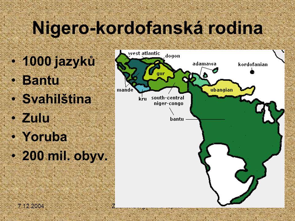 Nigero-kordofanská rodina