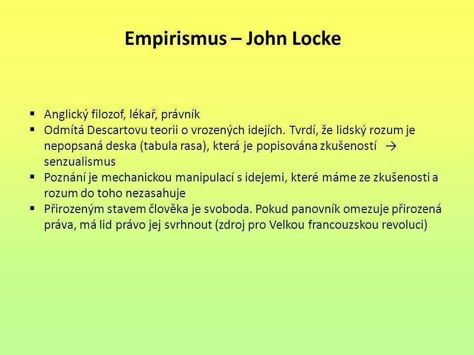 Empirismus – John Locke