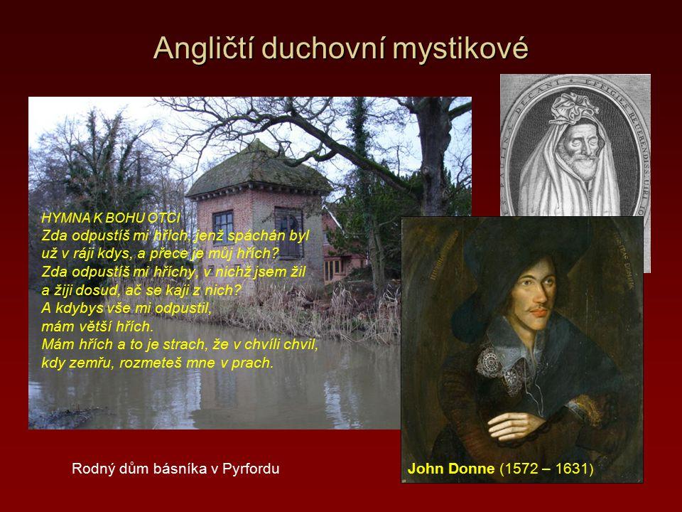 Angličtí duchovní mystikové