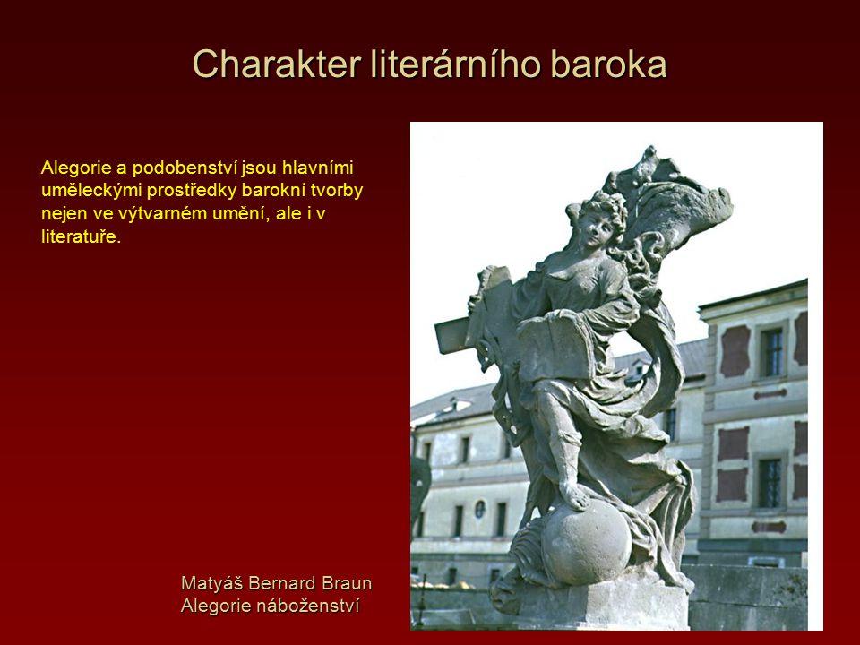Charakter literárního baroka