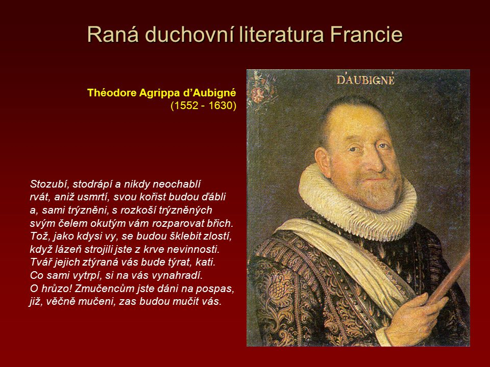Raná duchovní literatura Francie