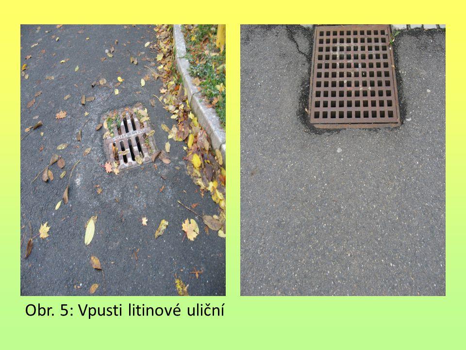 Obr. 5: Vpusti litinové uliční