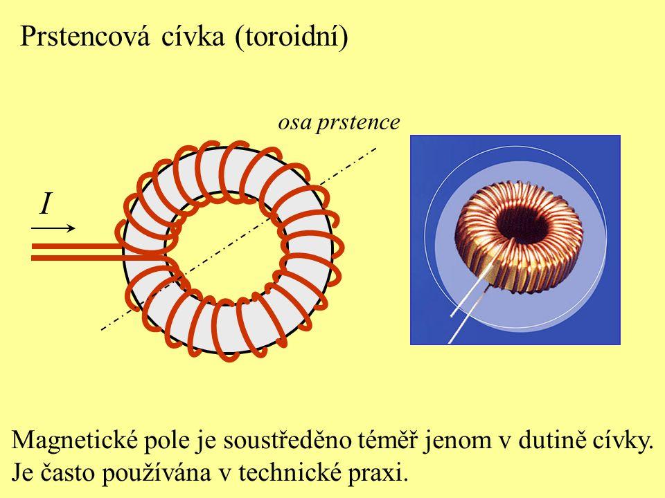 I Prstencová cívka (toroidní)