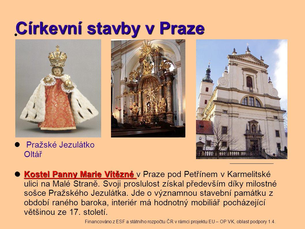 Církevní stavby v Praze