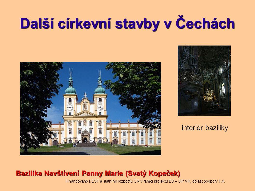 Další církevní stavby v Čechách