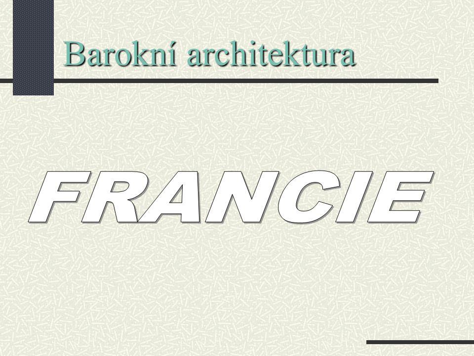 Barokní architektura FRANCIE