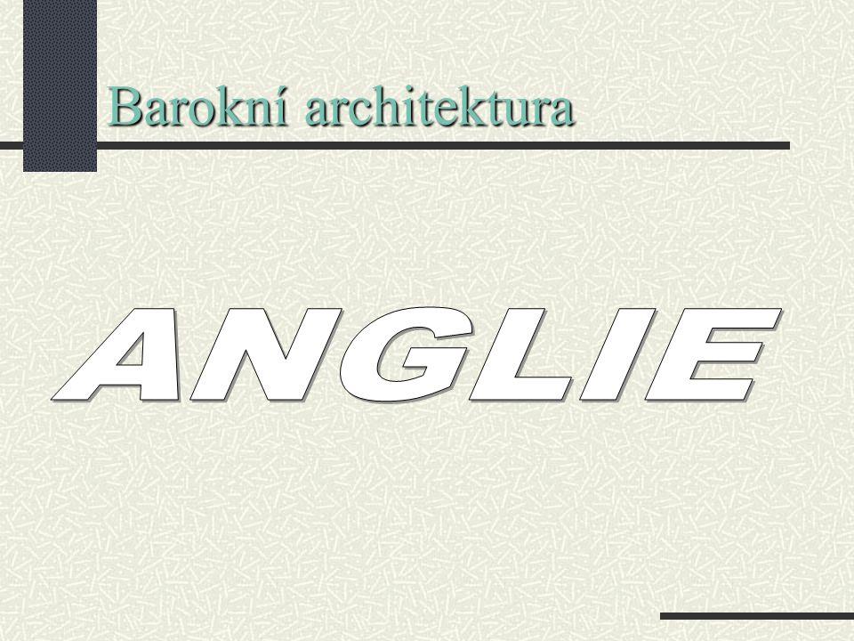 Barokní architektura ANGLIE