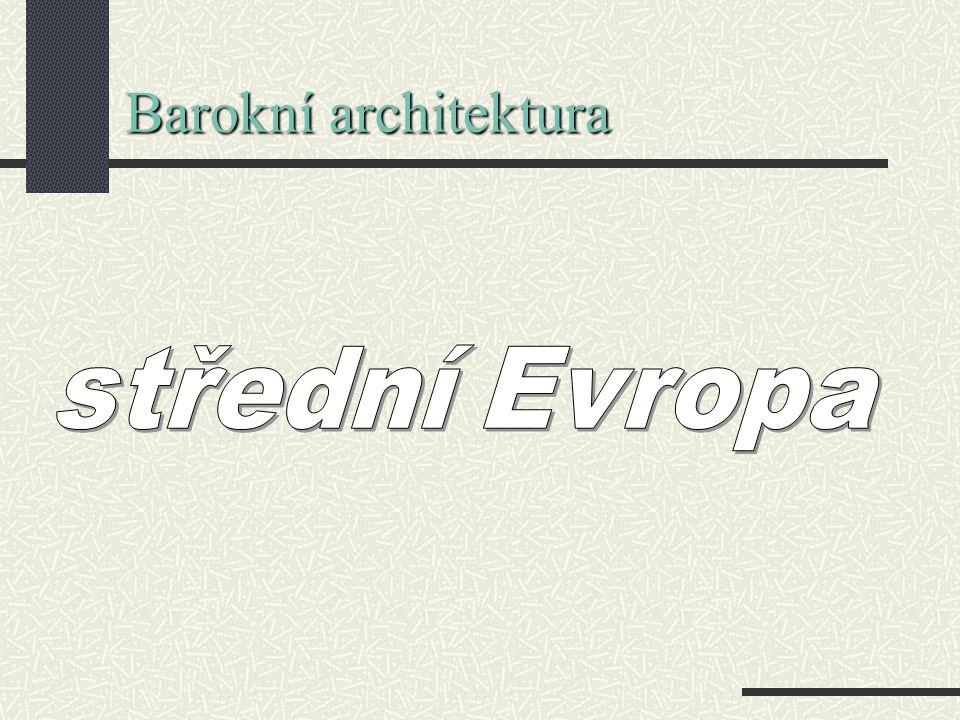 Barokní architektura střední Evropa