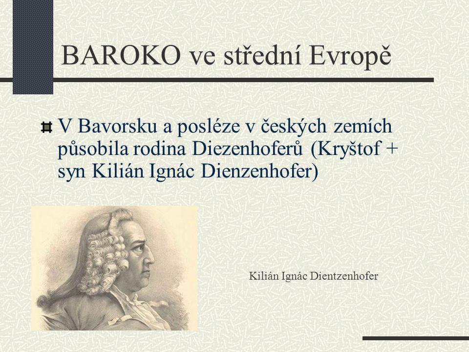 BAROKO ve střední Evropě