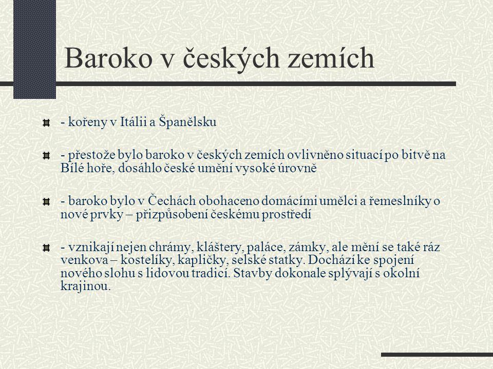 Baroko v českých zemích