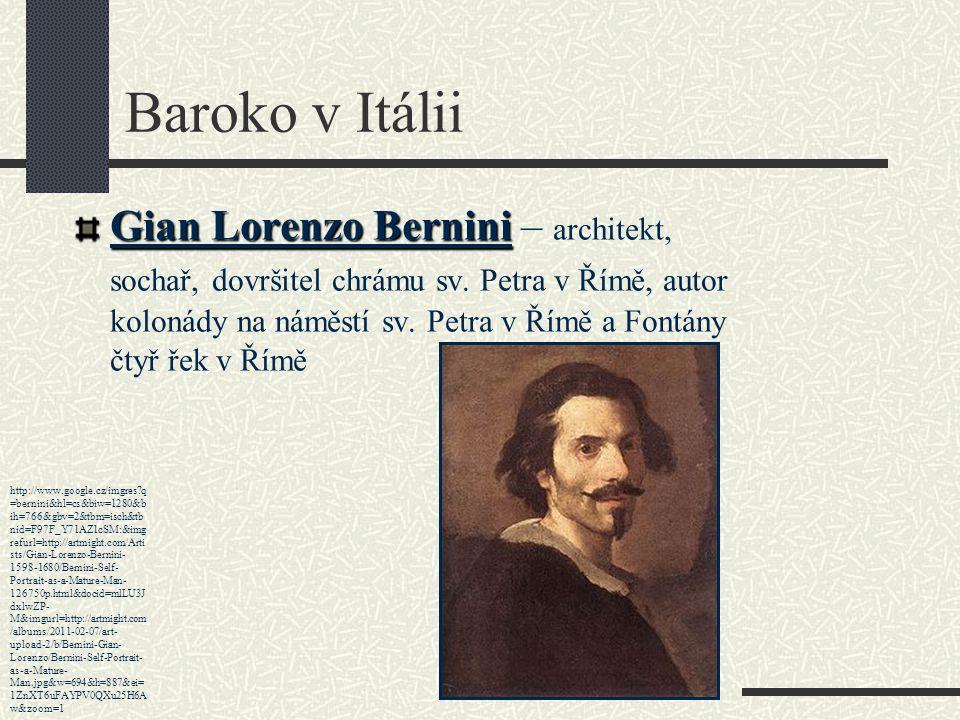 Baroko v Itálii