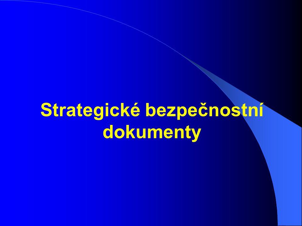 Strategické bezpečnostní dokumenty