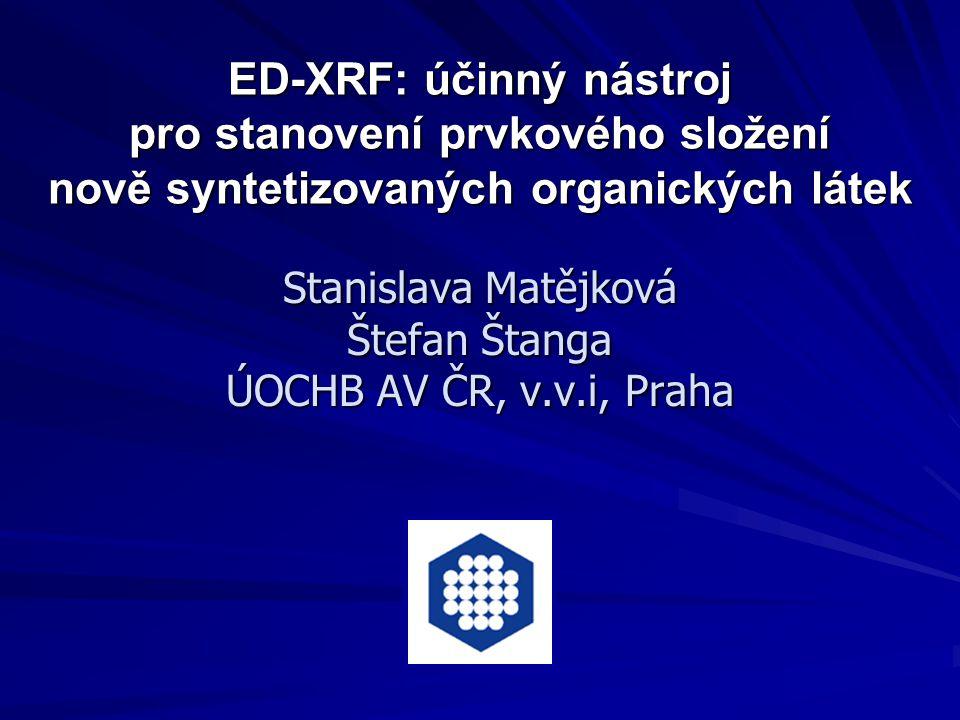 Stanislava Matějková Štefan Štanga ÚOCHB AV ČR, v.v.i, Praha