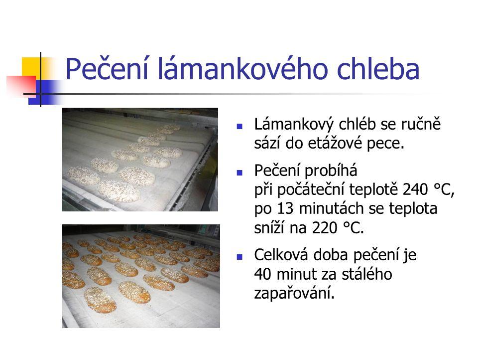 Pečení lámankového chleba