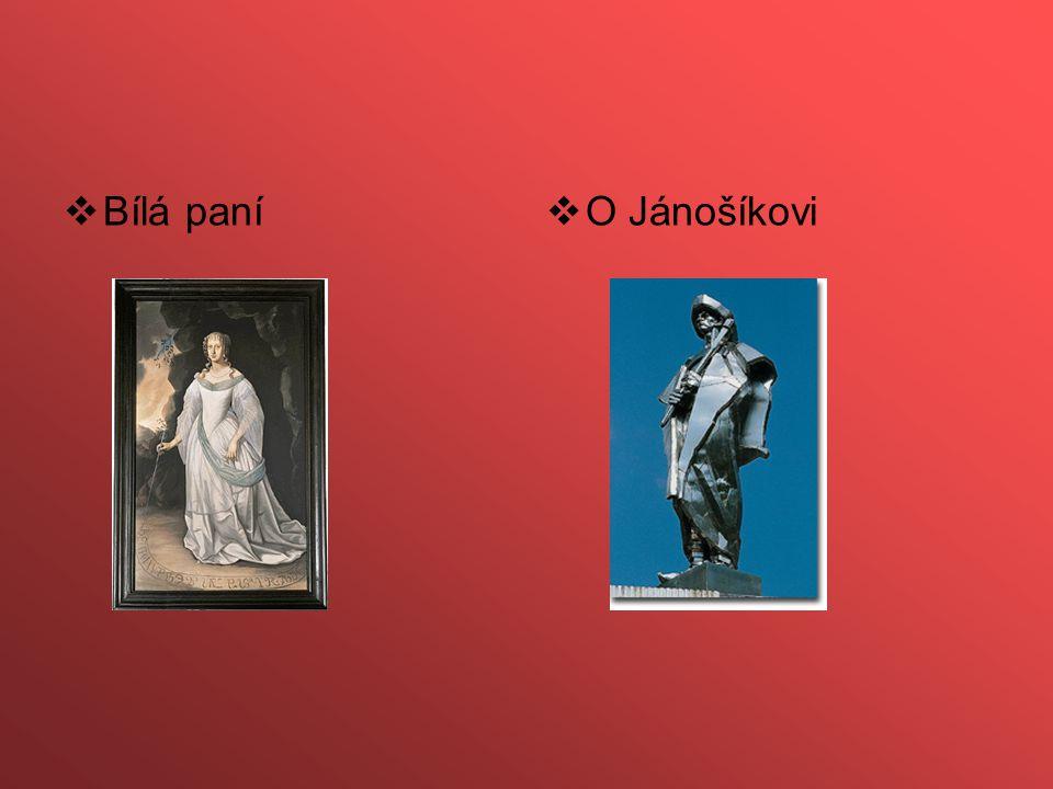 Bílá paní O Jánošíkovi
