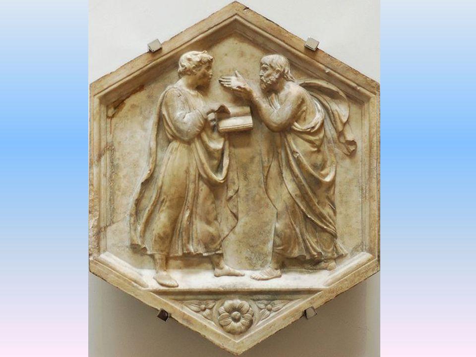 Aristotelés (vlevo) - Platon