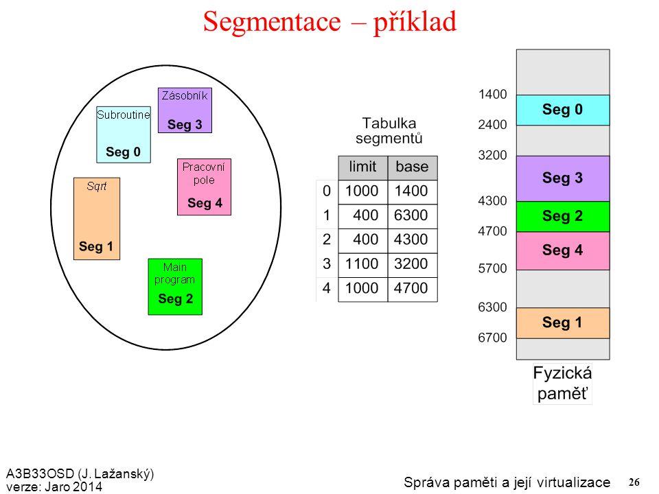 Segmentace – příklad
