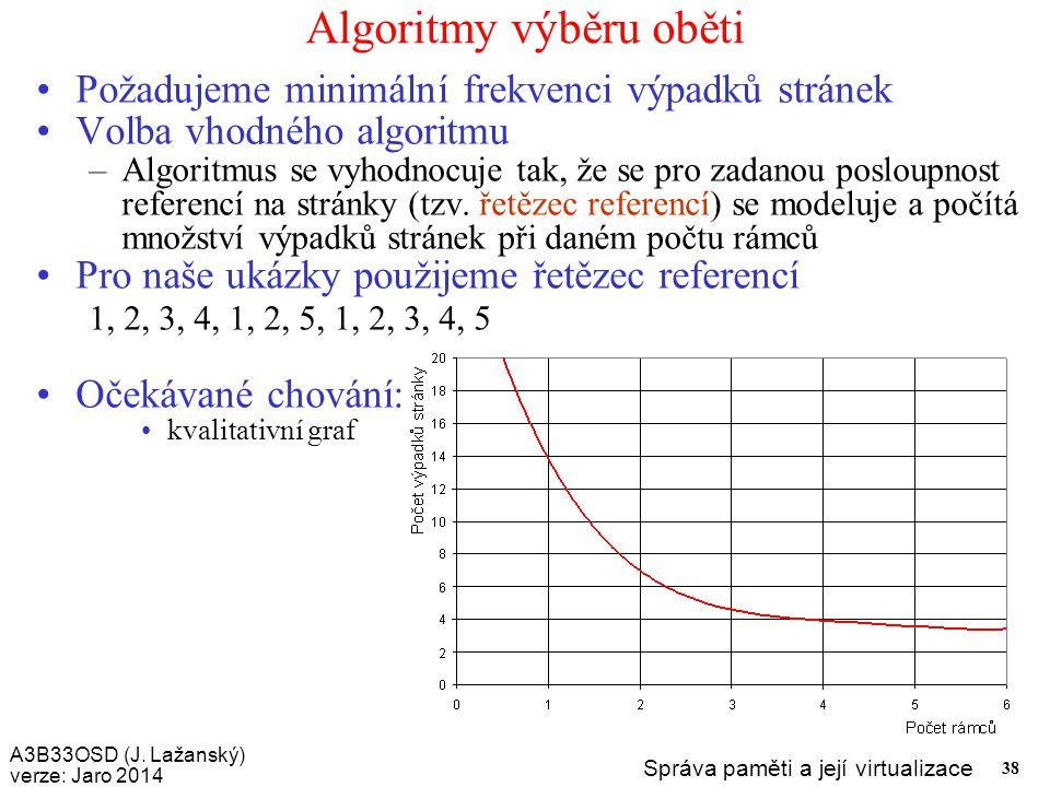 Algoritmy výběru oběti