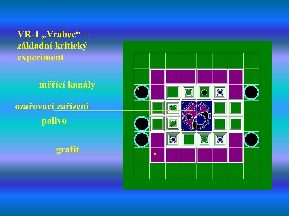 """VR-1 """"Vrabec – základní kritický experiment"""