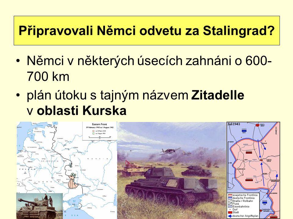 Připravovali Němci odvetu za Stalingrad