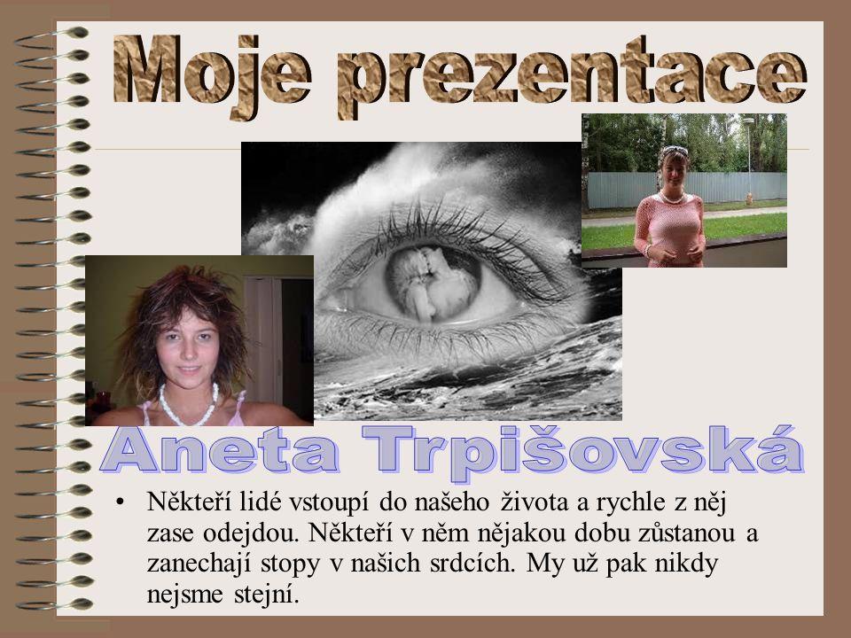 Moje prezentace Aneta Trpišovská.