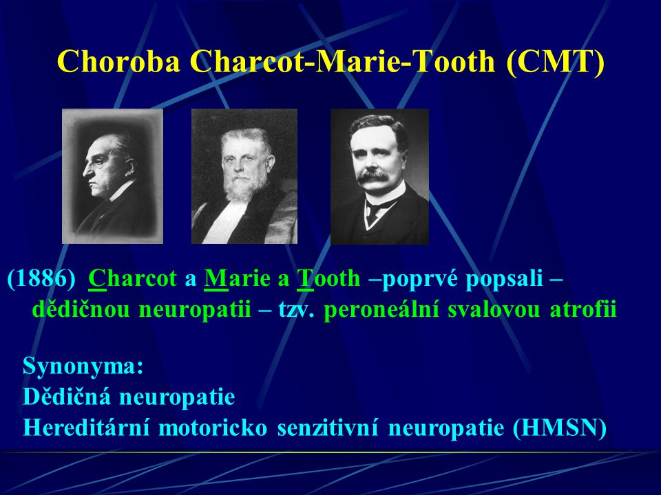 Choroba Charcot-Marie-Tooth (CMT)