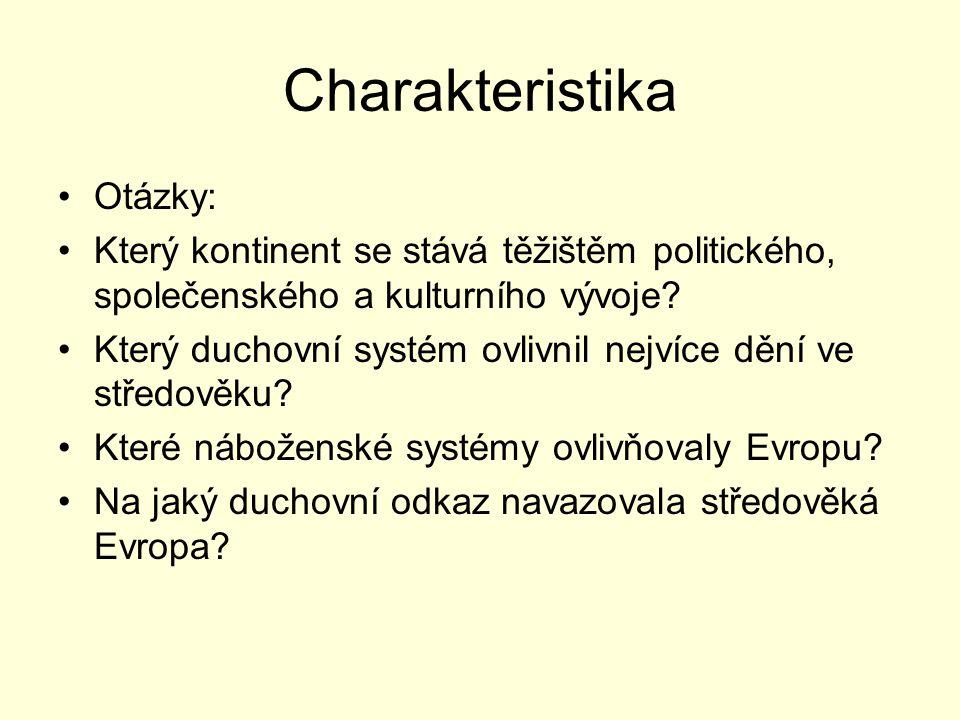 Charakteristika Otázky: