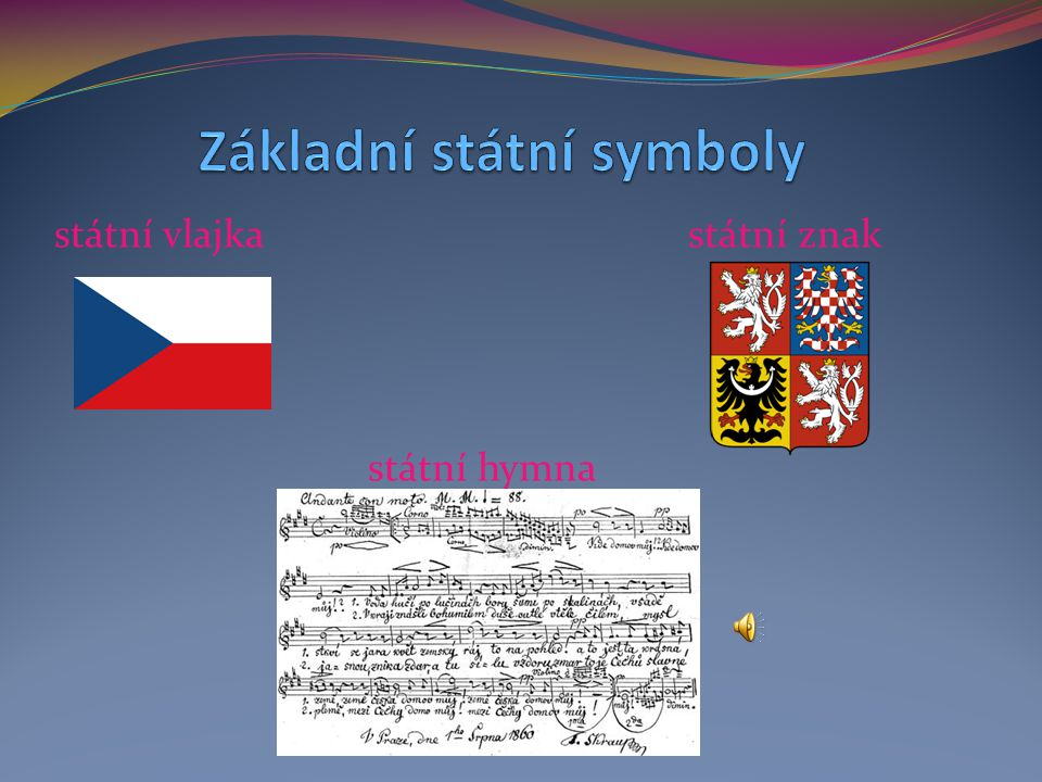 Základní státní symboly