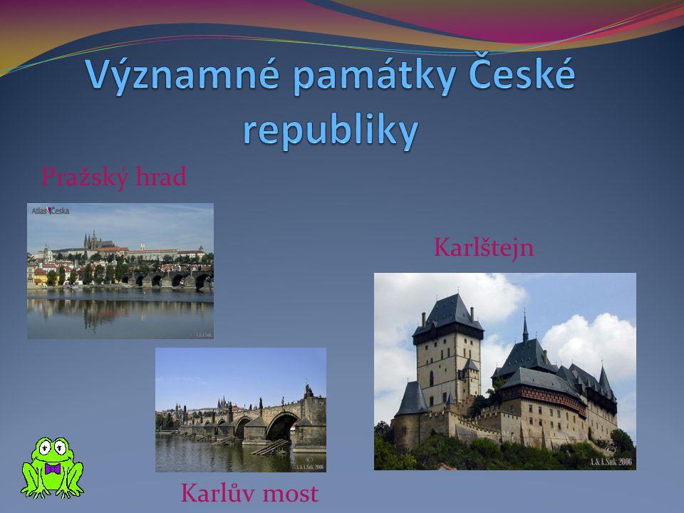 Významné památky České republiky