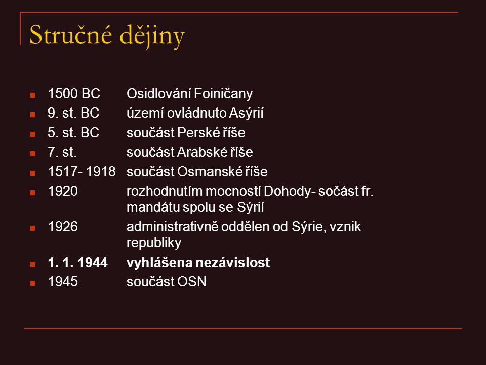 Stručné dějiny 1500 BC Osidlování Foiničany