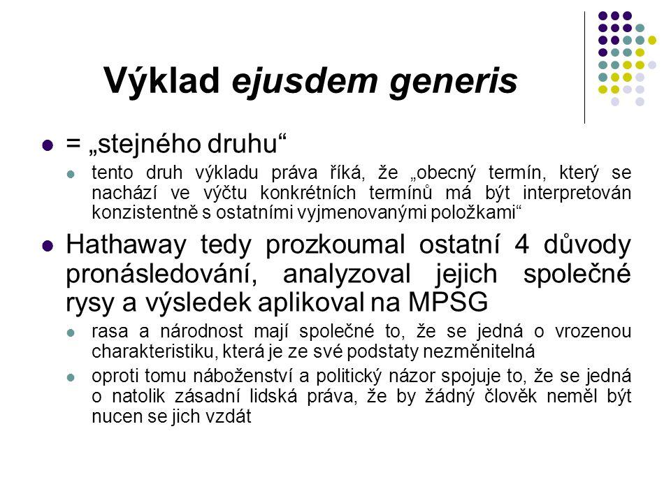 Výklad ejusdem generis