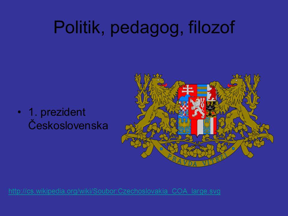 Politik, pedagog, filozof