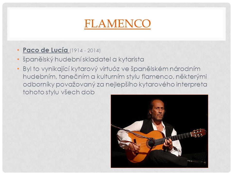 Flamenco Paco de Lucía (1914 - 2014)