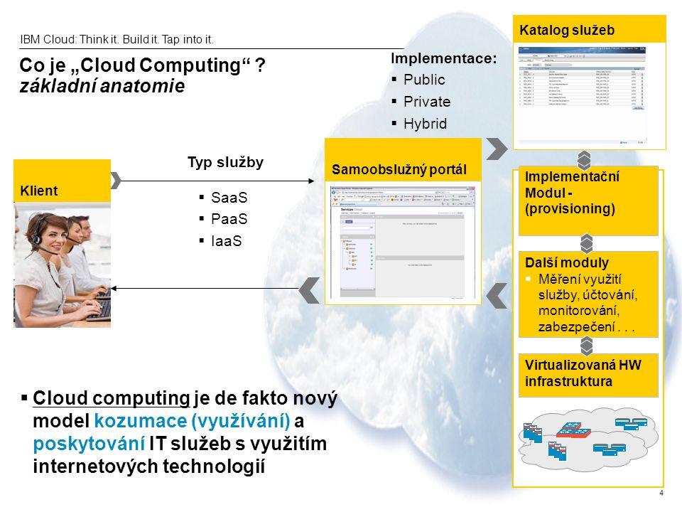 """Co je """"Cloud Computing základní anatomie"""