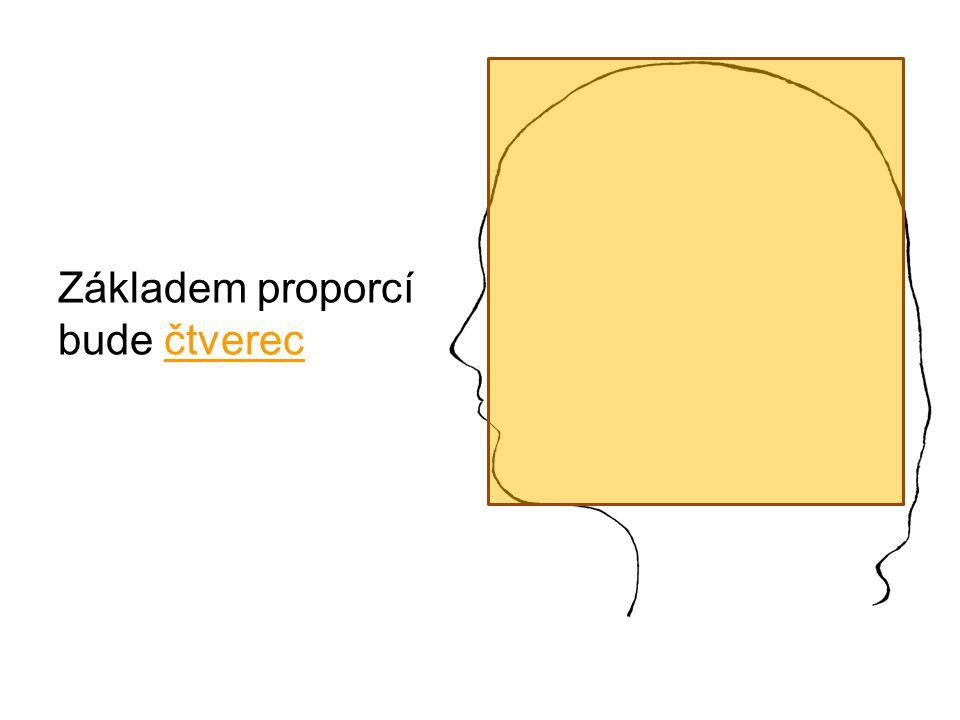 Základem proporcí bude čtverec