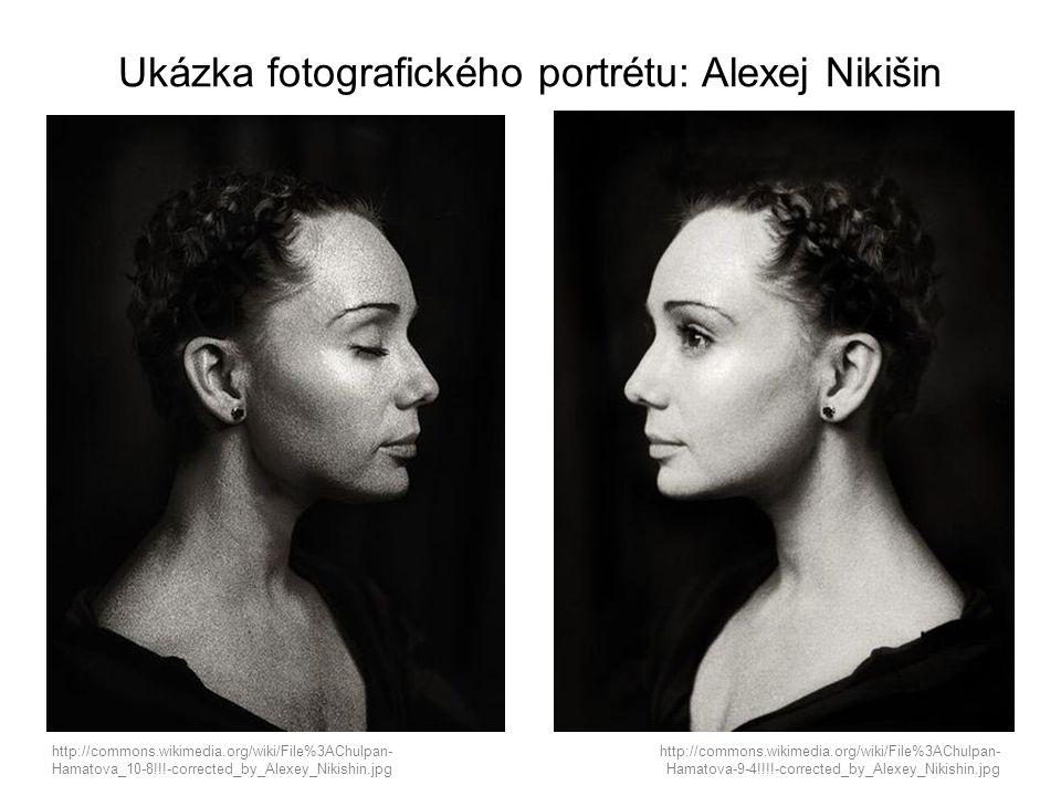 Ukázka fotografického portrétu: Alexej Nikišin