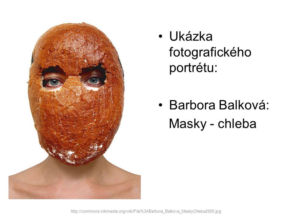 Ukázka fotografického portrétu: