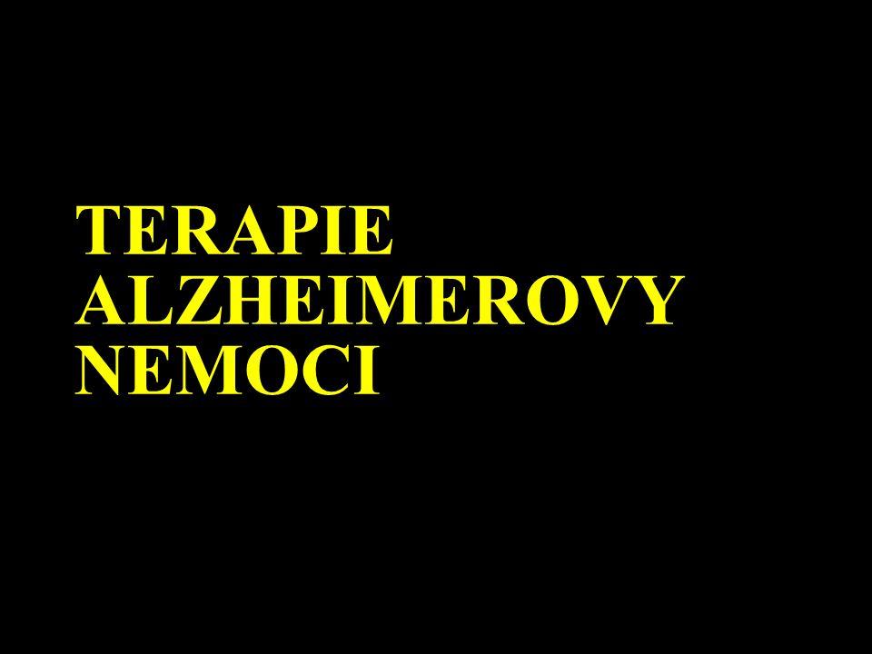 TERAPIE ALZHEIMEROVY NEMOCI